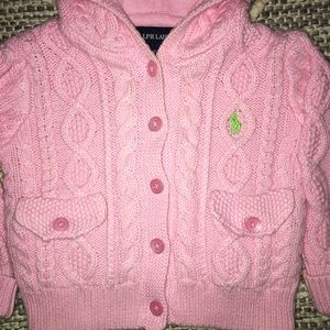 3 for $20 💕CUTE RALPH LAUREN CHUNKY POLO SWEATER